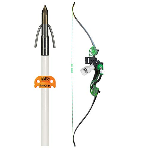 AMS Bowfishing Water Moc Recurve Bowfishing Kit - Right Hand