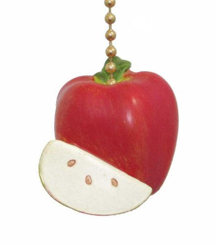 Red Delicious Apple Ceiling Chain Fan Pull