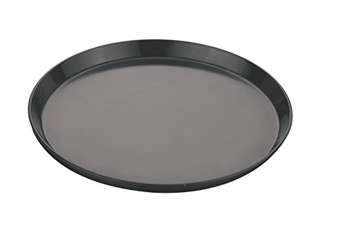 ROYALS Teflon Non Stick Pizza Pan, Black(8-inch)