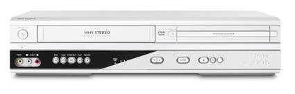PHILIPS DVP620VR DVD-Player-Combo VCR-Player
