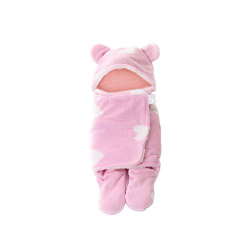Universelle Baby Impression Wrap Emmailloter Couverture Gigoteuse - Chaud Hiver Nouveau-né Sac de Couchage pour Poussettes ou Lits Bébé [Zhhlinyuan]