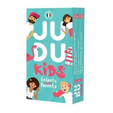 JUDUKIDS - Parents vs Enfants - Jeu de société - Famille - par Les créateurs de JUDUKU - 480 Cartes fabriquées en France