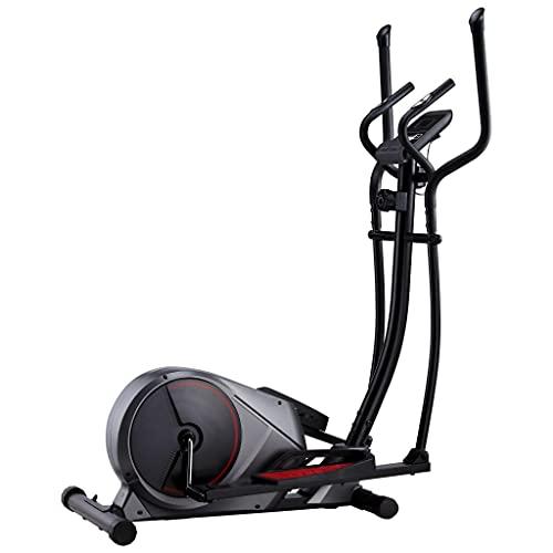 vidaXL Crosstrainer Magnetisch mit Pulsmessung Computer LCD-Display Ellipsentrainer Heimtrainer Cardio Ergometer Fitnessgerät 120kg Schwungmasse 20kg