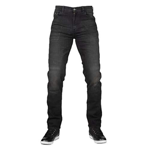 116406023232 - Bull-It Covert SP120 Straight Fit Black Motorcycle Jeans 32 Regular