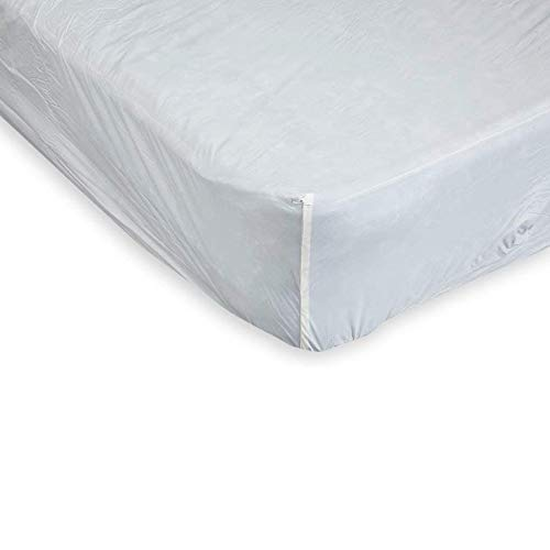 Gailarde 100% Vinyl Mattress Protector | Double Bed, 140 cm x 190 cm | Waterproof Sheet Topper, Luxury Bed Fitted, Machine Washable, Wipe Clean, Flame Retardant | Home Bedroom Furniture Essentials