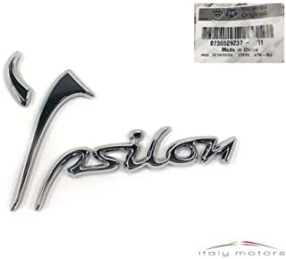 DISE/ÑO DE ESCUDO LANCIA YPSILON Y HASTA 2011 ORIGINAL TRASERA logo SIGLA FREGIO