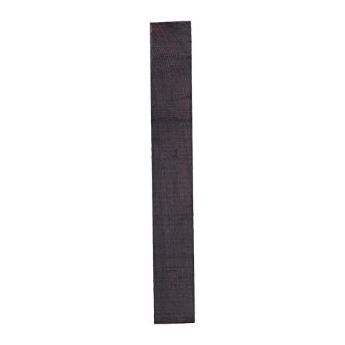Handwerk Holz Rohling, Ebenholz Holz DIY Material für Akustikgitarre Musikinstrumente Zubehör(1 Stück 150x20x20mm)