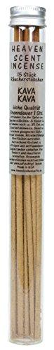 The Dipper 15 amerikanische Qualitäts Räucherstäbchen KAVA KAVA Nr. 51 von Heaven Scent GB, in Einer Glasröhre