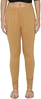 Lovely India Fashion Full Stretchable Solid Regular Shining Leggings For Women And Girls Colours