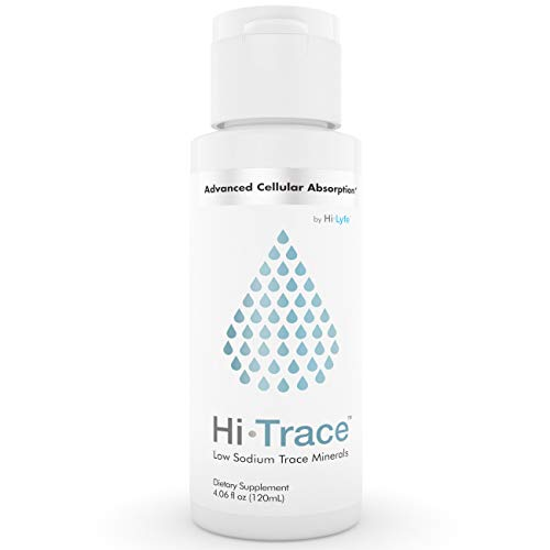 Hi-Trace Trace Mineral Drops | 72 Essential Minerals | High Stamina Supplement | Improves Vitamin & Nutrient Absorption | Supports Healthy Skin, Hair & Nails | by Hi-Lyte | 120 Servings