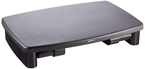 Amazon Basics Adjustable Computer Monitor Riser Desk Stand