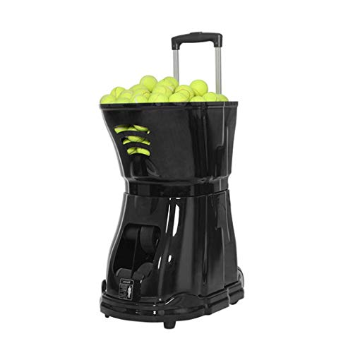 Review Of Kamiliya 2020 Portable Tennis Ball Serving Machine | Retractable Tie Rod Design, Large Cap...
