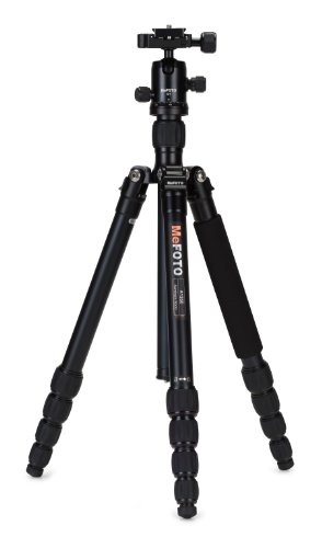 MeFOTO RoadTrip Convertible Tripod Kit with 5 Section Aluminium Legs -...
