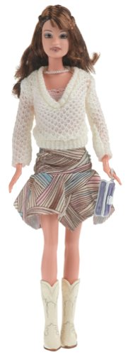 Barbie: Fashion Fever - Teresa con Falda y Suéter Blanco