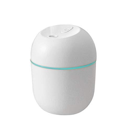 HSD Diffusor Aromatherapie, 150ml Aroma Diffuser für ätherische öle, Ultra Leise Luftbefeuchter Ultraschall Vernebler,kleiner Luftbefeuchter (C)
