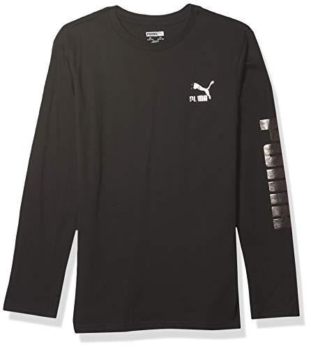 PUMA Graphic T-Shirt, Nero, L Bambino