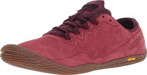 Merrell Damen Vapor Glove 3 Luna Leather Sneaker, Rot (Pomegranate Pomegranate), 42 EU