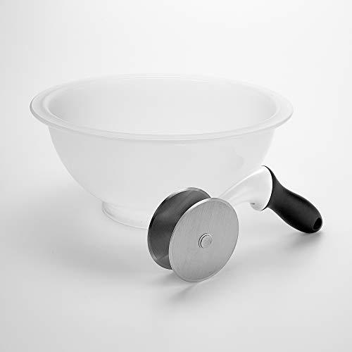 OXO Good Grips Salad Chopper & Bowl, 12.5 x 5.5 x 12.5 inches, White