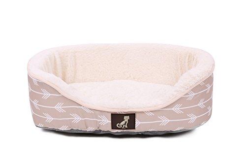 "All Pet Solutions ""Bella""-Kollektion Hundebett, warm, mit wendbarem Kissen, waschbar"