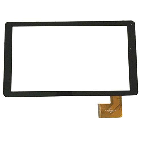 Ajuste de la Pantalla táctil de 10,1 Pulgadas para WOXTER QX103 QX 103 Tablet PC Panel de Vidrio Negro Sensor de reemplazo del digitalizador (Solo Pantalla táctil) (Color : Black)