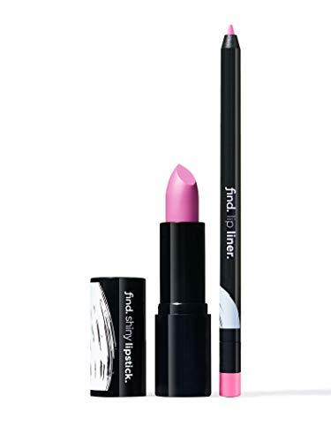 Amazon-Marke: find. Celestial Pink (Lippenstift, glänzend n.6 + Lippenkonturstiftn.11)