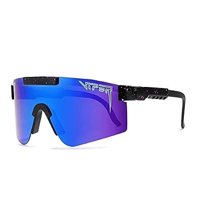 CYLEN Pit Viper V1 Polarized Sports Sunglasses for Men Women Cycling Running Driving Fishing Golf Glasses (C5)