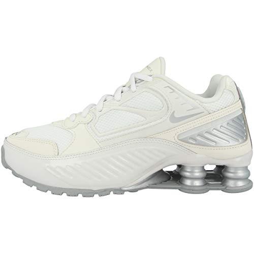 Nike Bq9001-003_40, Scarpe da Ginnastica Donna, Bianco, EU