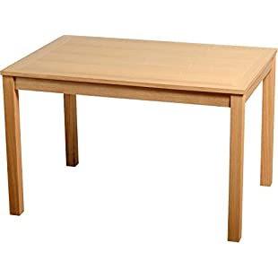 Xpress Delivery Oakmere Dining Table in Natural Oak Veneer:Lidl-pl