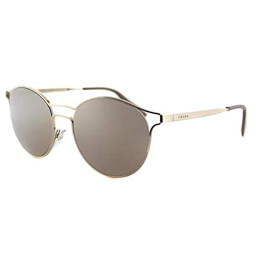 PRADA MOD. 62SS SUN Gafas de Sol para Mujer, Dorado (Pale Gold/Light Brown Gold)