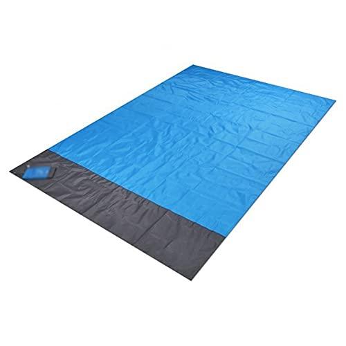 WHHK Manta Plegable Impermeable Pollado Picnic Picnic Playa Mat Ultra Durable Arena Libre Al Aire Libre Estera Al Aire Libre Colchón Dormir para Camping Senderismo (Size : 140x200cm)