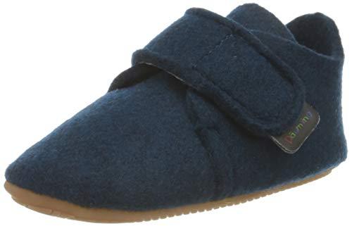 Däumling Unisex Baby Lilli - Barfuß Sneaker, Pet tiefsee, 22 EU
