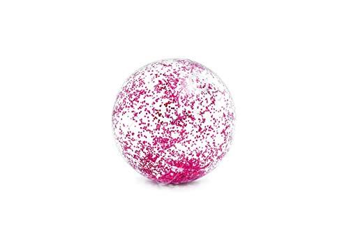 Intex Pool Zubehör Glitzer Wasserball transparent Ø71cm pink