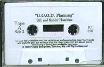 G.O.O.D. Planning. Bill and Sandy Hawkins. Building an Amway business. 1992