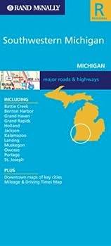 Folded Map - Southwestern Michigan