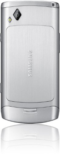 Samsung Wave II S8530 Smartphone (9,5 cm (3,7 Zoll) Display, Touchscreen, 5 Megapixel Kamera)platinium-silver