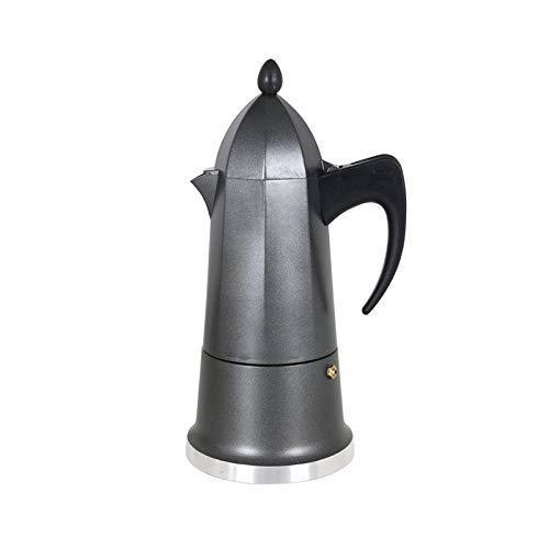LEYENDAS Cafetera Espresso en Aluminio - Estilo Italiano (9 Tazas)