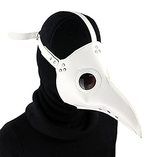 YYID Maschera Medico della Peste, Maschera di Halloween Steampunk Becco di Uccello Proboscide, Maschera di Uccello di Carnevale Festa di Festa, Costume Medico della Peste, Maschera Cosplay