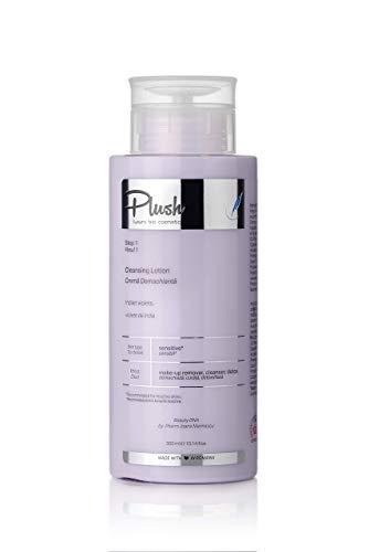 Luxury BIO Cosmetics - Pour le visage Lait Démaquillant violet Indien - est un vrai régal pour tous les types de peau (300 ml)