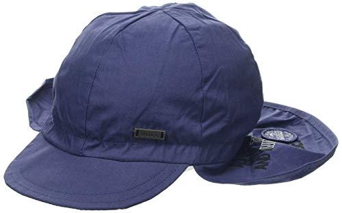 Döll Jungen Baseballmütze mit Nackenschutz Kappe, Blau (Total Eclipse|Blue 3000), 57