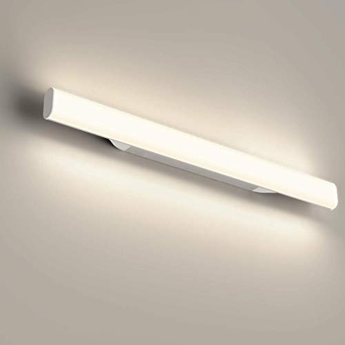 12W 1200LM Lámpara LED de pared, Lámpara de espejo Aplique de Baño LED 440mm 4000K Luz natural para Espejo Muebles de Maquillaje Aparato Montado en la Pared