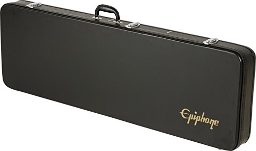 Epiphone Thunderbird Bass Hard Case - Caja rígida para guitarra, color negro