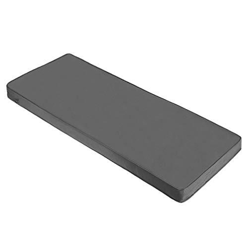 AAAAAcessories Outdoor/Indoor Bench/Swing/Settee Cushion for Patio Furniture, 48 x 18 x 3 Inch, Dark Grey