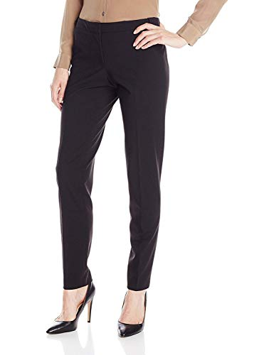 Calvin Klein Women's Lux Highline Pant (Petite, Standard, & Plus), Black, 10