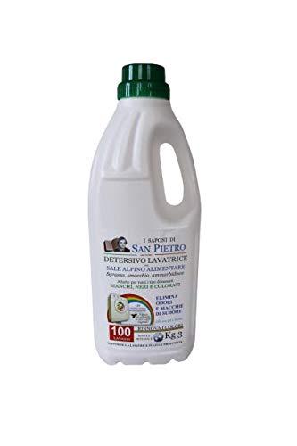 San Pietro Detersivo Lavatrice Liquido Igienizzante MADE IN ITALY Ammorbidente Ecologico 100 Lavaggi