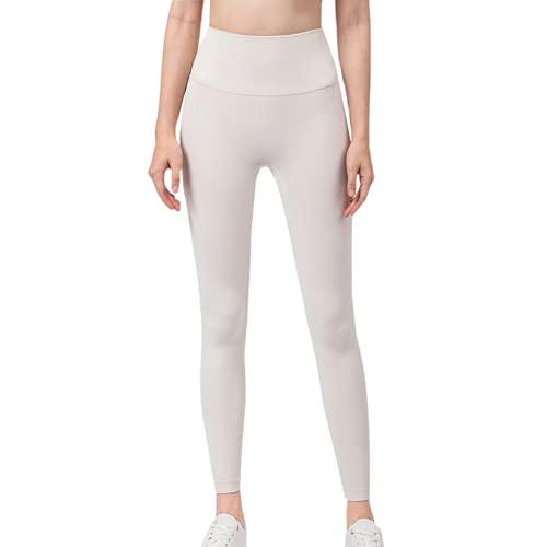 QTJY Pantalones de Yoga de Secado rápido elásticos para Mujer, Ejercicio Push-up, Pantalones Deportivos para Celulitis, Pantalones de Cintura Alta para el Vientre E M