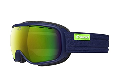 Loubsol Atom Masque de Ski Adulte Homme, Marine, U