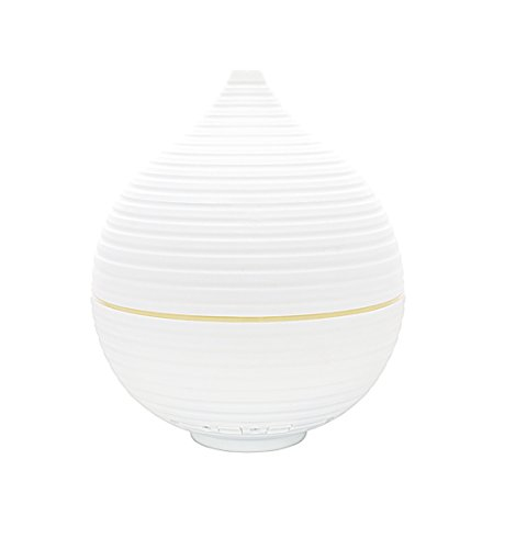 Promed AL-305 WS Aroma Diffusor 300 ml, Ultraschall Luftbefeuchter 0,3 Liter, Humidifier, Raumbefeuchter, elektrische Duftlampe mit 5 Farben LED Licht, Aroma Diffuser, Aromatherapie