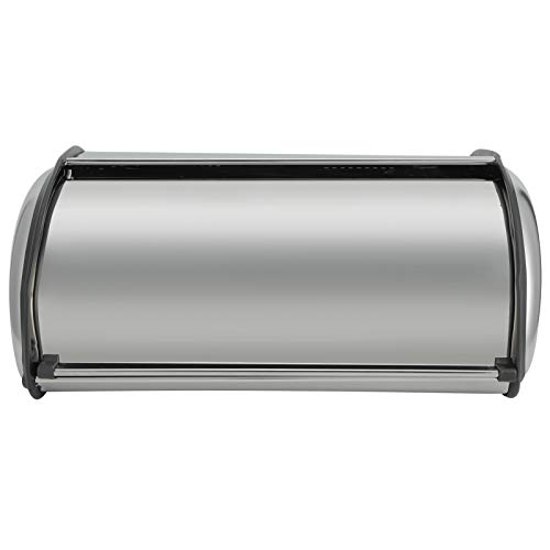 LIXINhengkj Caja de Pan de Acero Inoxidable Caja de Pastel Caja de Almacenamiento de Condimentos Adecuada para Suministros de Almacenamiento de Cocina de Restaurante