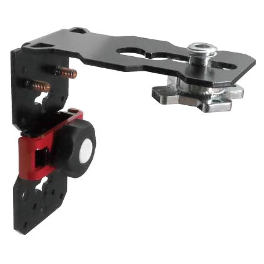 成果ガウン脚本家レーザーフィックス Laserfix 本体 レーザー墨出し器用 L型 多機能 マウントブラケット レベル保持器 3/8ネジ ライトゲージ