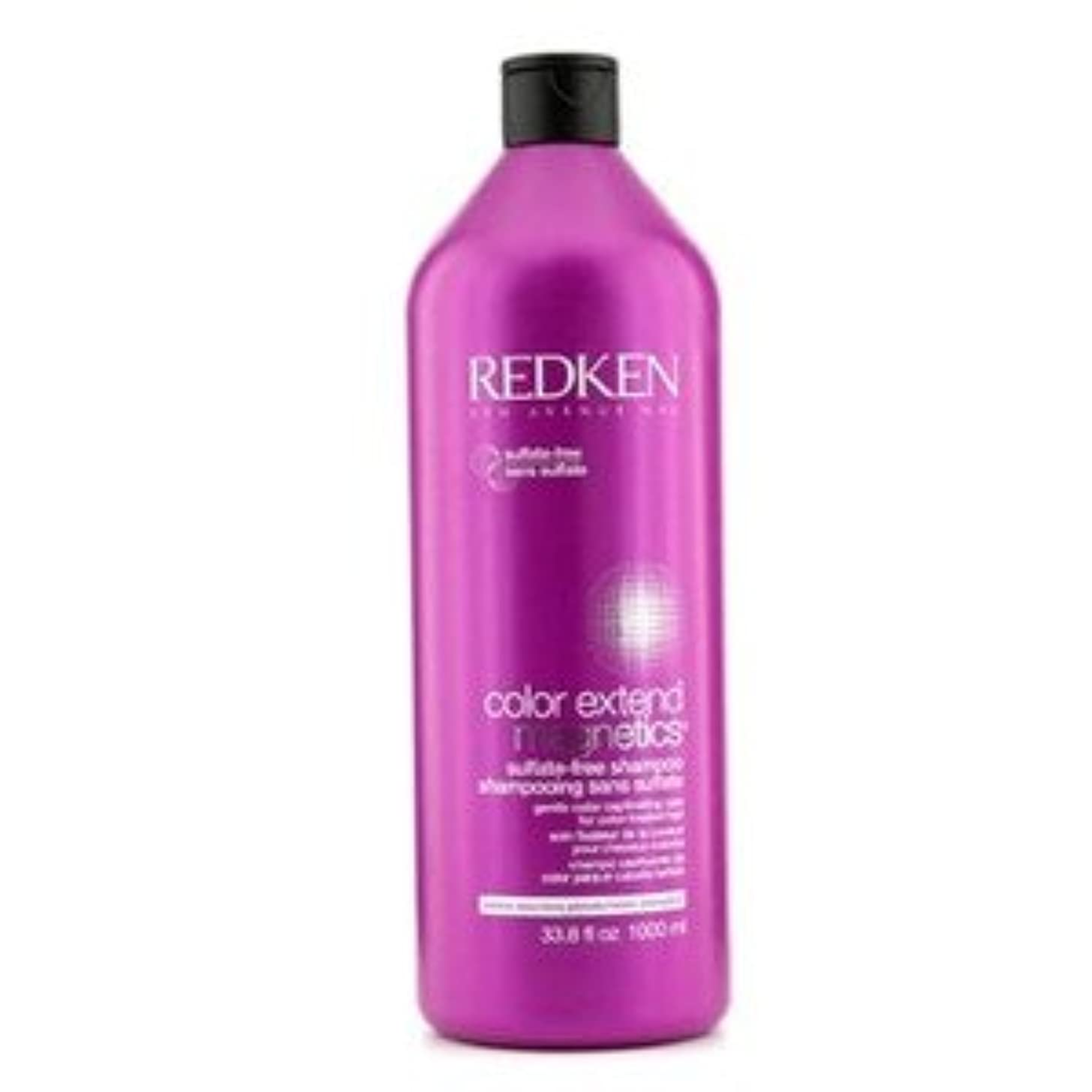 形ケントしみRedken カラー エクステンド マグネティクス サルフェートフリー シャンプー(For Color-Treated Hair) 1000ml/33.8oz [並行輸入品]